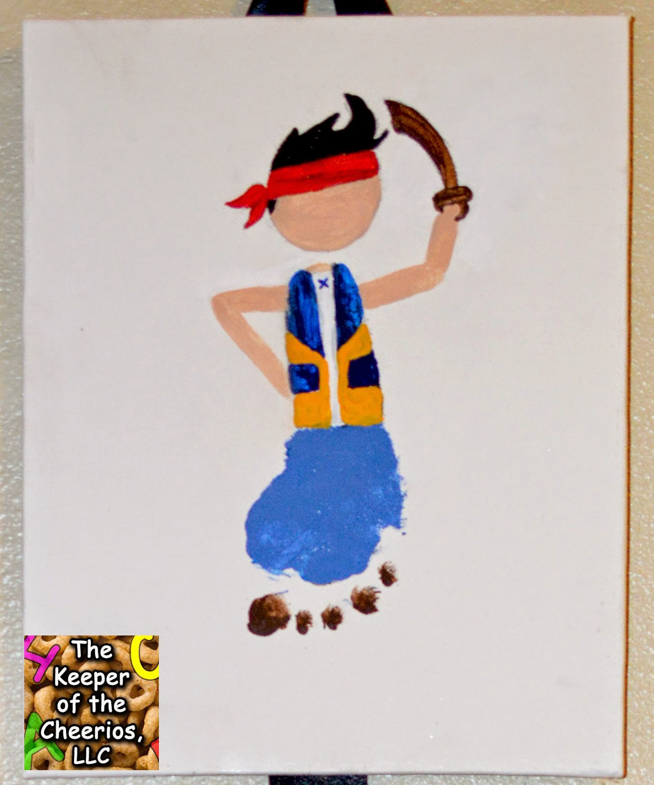 Jake and the Neverland Pirates Crafts