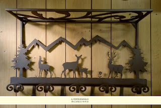 Plafoniere Per Case Di Montagna : Appendini lampade per case di montagna chalet baite e country