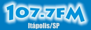 Rádio 107,7 FM da Cidade de Itápolis ao vivo