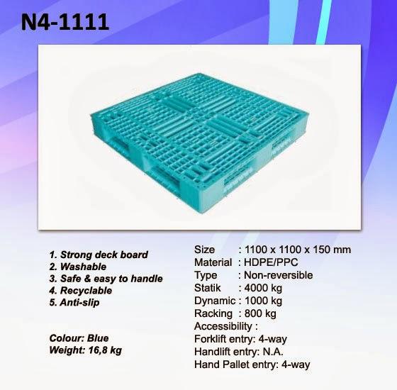 Pallet Plastik N4-1111