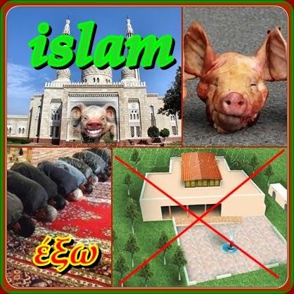 Το τζαμί (η λέξη προέρχεται από τα Τουρκικά: Cami) , στα αραβικά: مسجد  (μαστζίντ), είνα