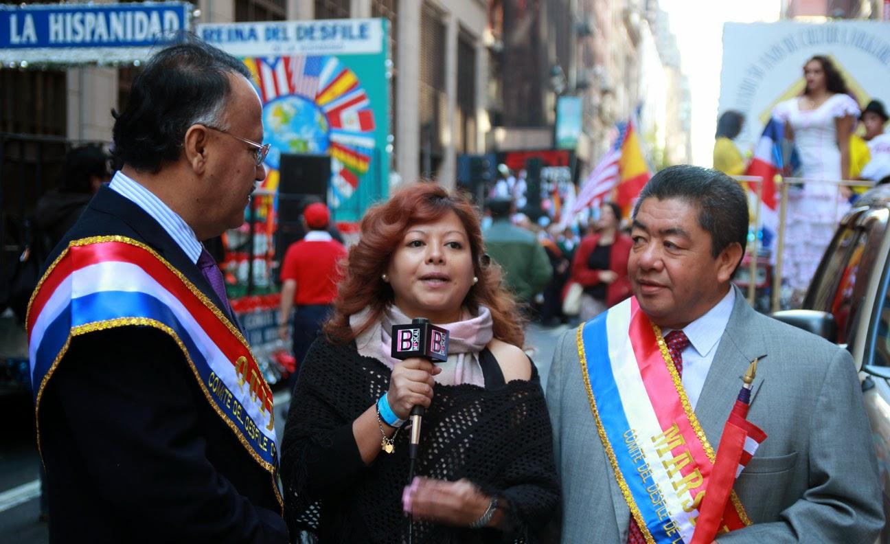 Desfile de la hispanidad de Nueva York 2014 - Mexico