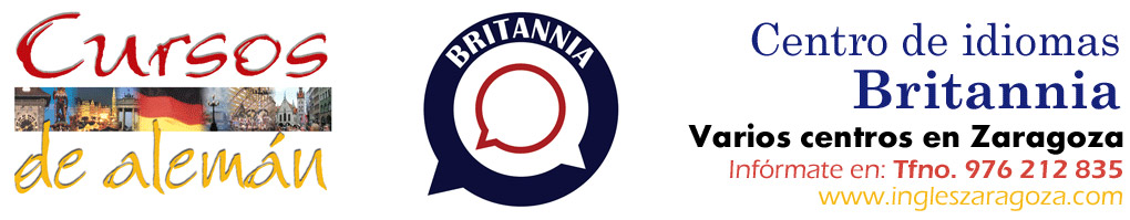 Britannia. Academia de alemán en Zaragoza (Zona Centro, Santa Isabel y Garrapinillos)
