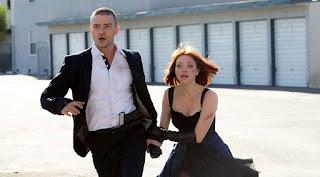 Justin Timberlake (Will Salas) y Amanda Seyfried (Sylvia Weis)