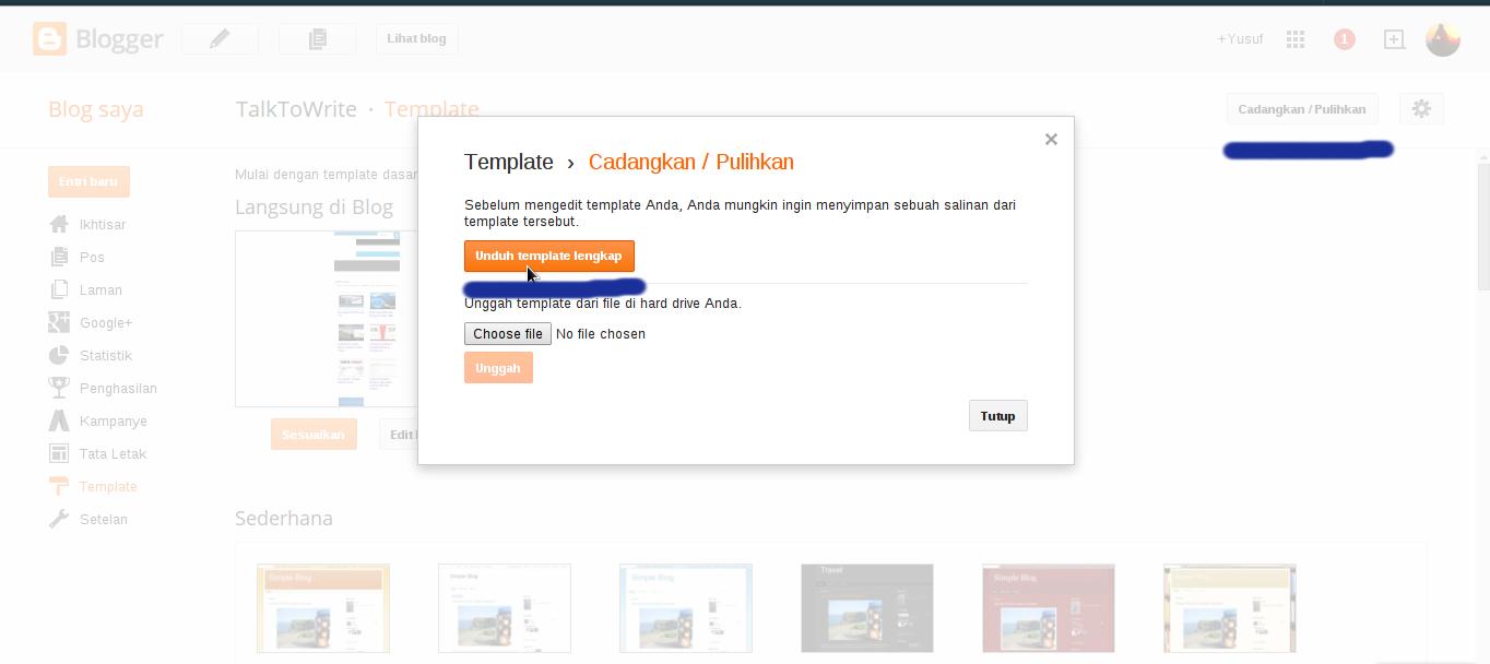 Cara membuat label di blogspot dengan mudah