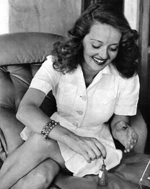Ruffles Whiskers Old Hollywood Inspiration Bette Davis