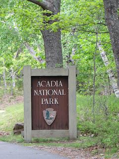 Acadia National Park Entrance Station