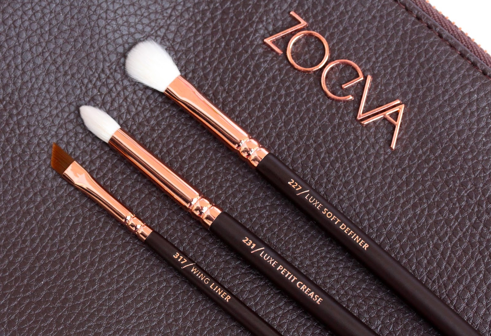 Zoeva Rose Golden Luxury Brush Set - eye brushes