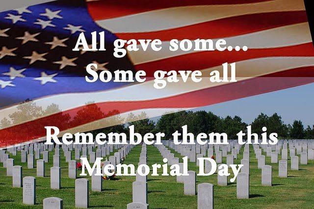 Memorial Day 2017 American Flag Image