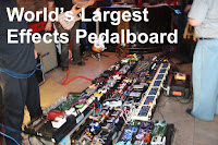 World's Largest Pedal Board