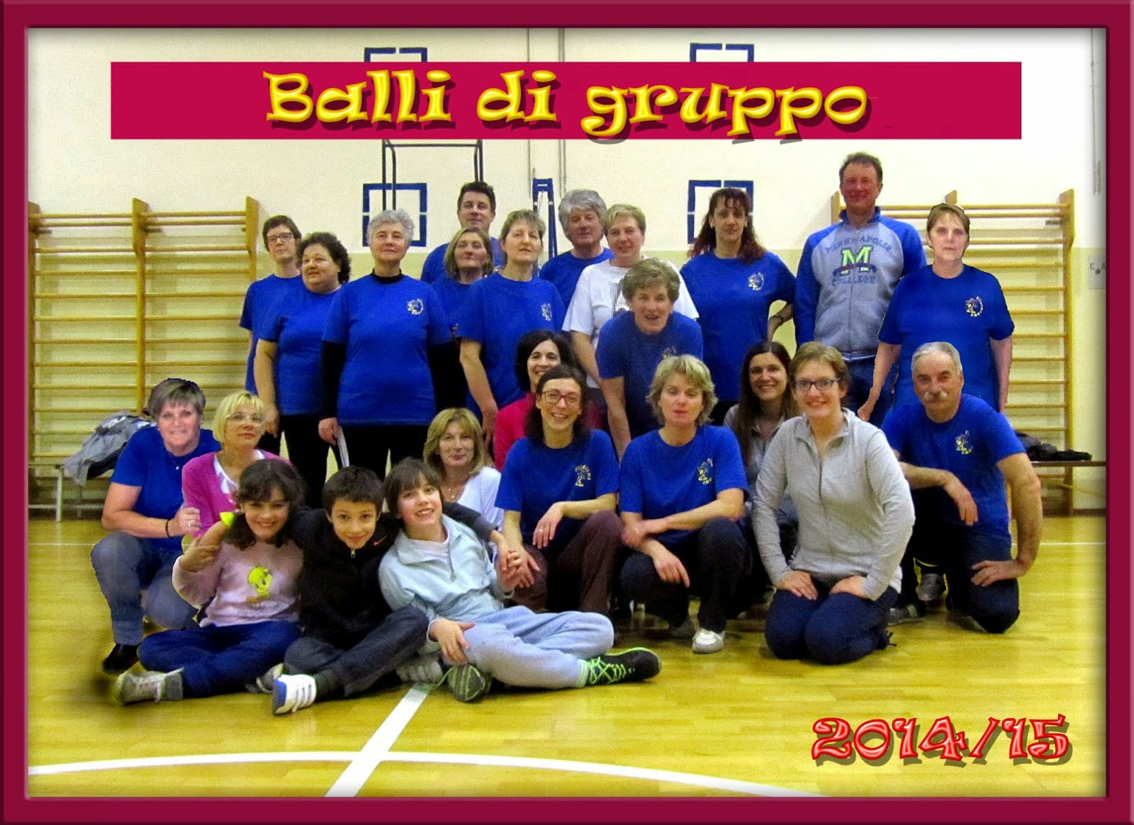 Corso di Balli di Gruppo 2014/15