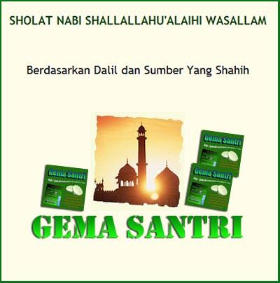 Free Ebook Perihal Sholat Rosululloh SAW-Gema Santri