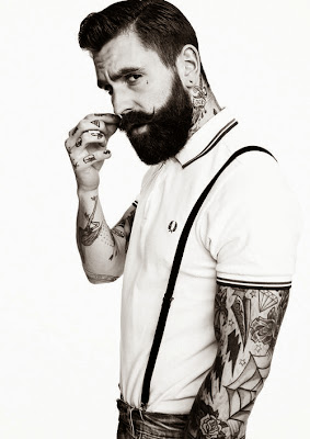 full bearded model