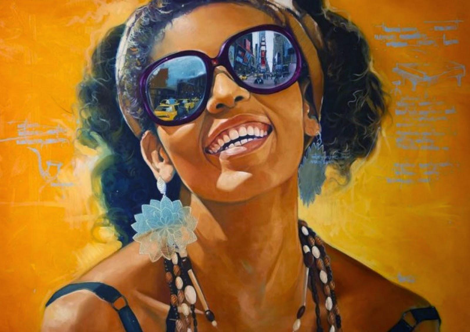 Im genes arte pinturas arte decorativo negras pintadas en cuadros al leo sobre lienzo - Pinturas de moda ...