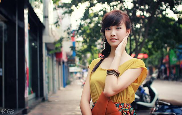 hot girl Huong Ly, gai dep hai duong
