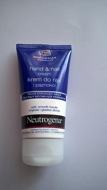 Idealny krem ?Krem do rąk i paznokci formuła norweska marki Neutrogena