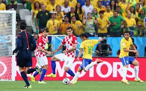 Brasil 3x1 Croácia - 2014