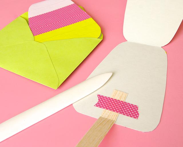 Omiyage Blogs Diy Washi Tape Popsicle Cards