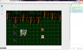 16 Bit Adventures Forest Battle Ogre Final Fantasy