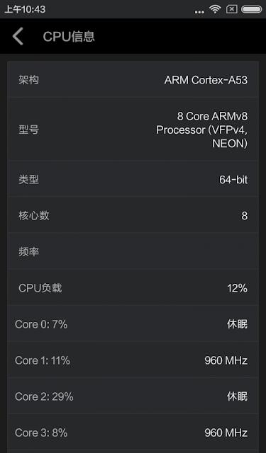 Xiaomi Redmi 3 AnTuTu