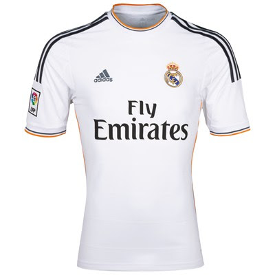 Real Madrid jersey for 2013-2014 | bola dunia