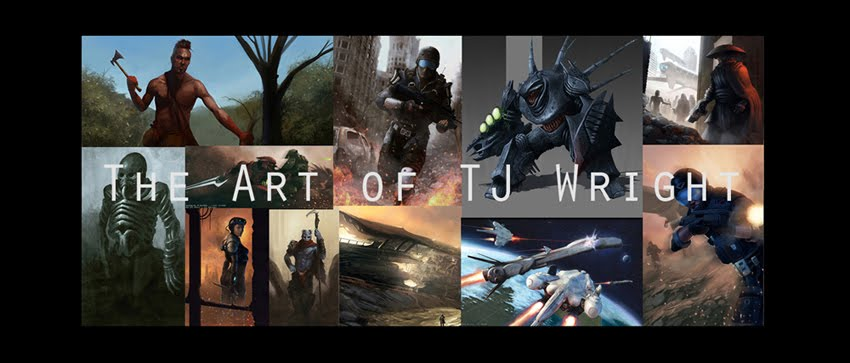 The Art of TJ Wright