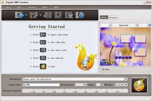 Tipard DVD Creator v3.5.12