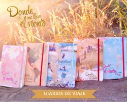 DONDE ME LLEVE EL VIENTO - Diarios de viaje para emprendedores de sueños