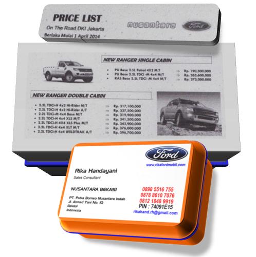 Daftar Harga dan Paket Kredit Ford All New Ranger Terbaru