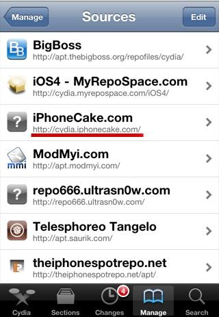 install cracked apps cydia iphonecake