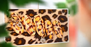EASY Leopard Nail Art