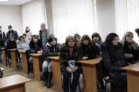 Колектив кафедри економічного аналізу і аудиту МДАУ приймав гостей, студентів Вознесенського коледжу МДАУ.
