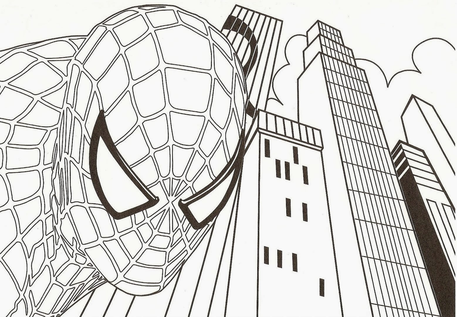 Spiderman 3 coloring pages - Spiderman Coloring Pages