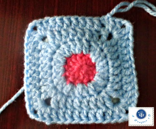 Free Crochet Granny Square Angel : crochet square bed