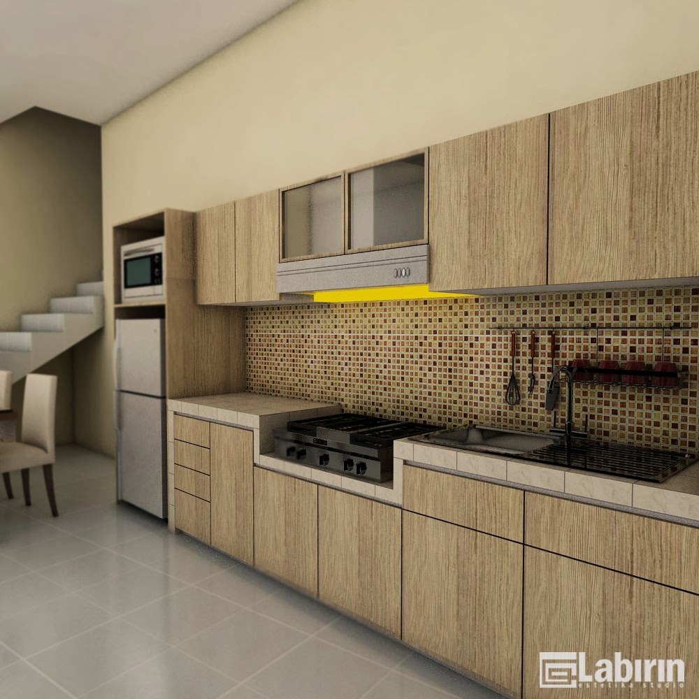 Kitchen Set Untuk Dapur Mungil: Desain Dapur Rumah Minimalis
