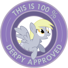 This is 100% Derpy approved
