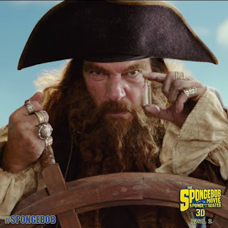 the spongebob movie sponge out of water-burger beard-antonio banderas