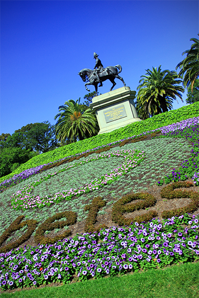 Diabetes Monument at the Melbourne Botanic Gardens