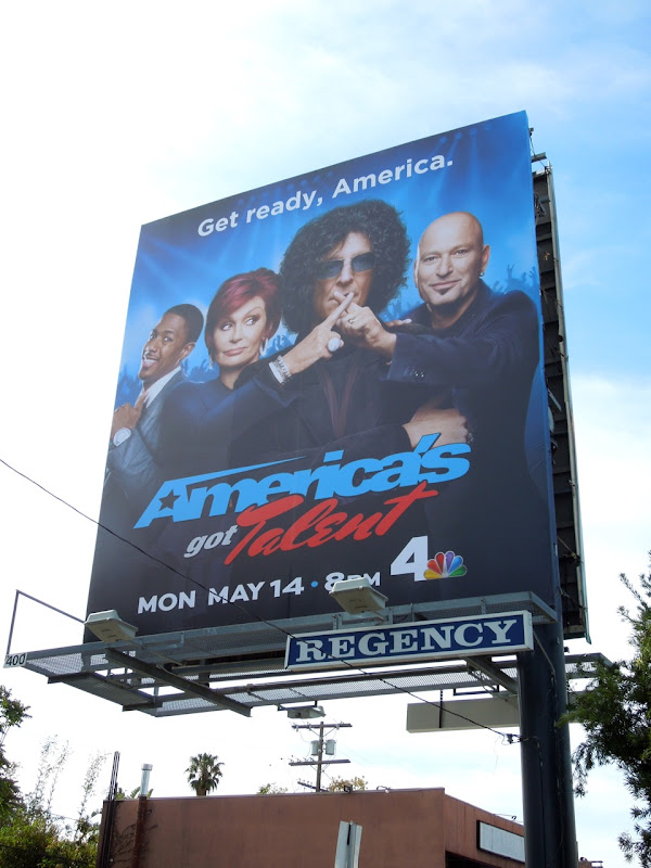 Americas Got Talent season 7 billboard