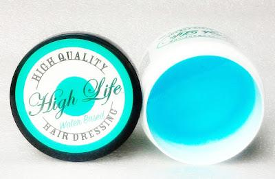 High Life Water Based Pomade Hair Dressing Slicks Hair