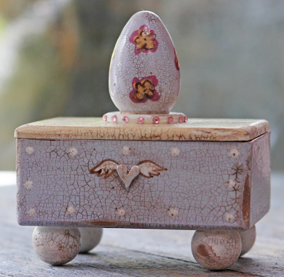 box with winged heart