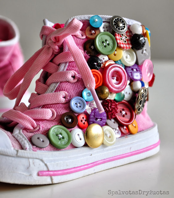 Updated Sneakers - Spalvotas Dryzuotas