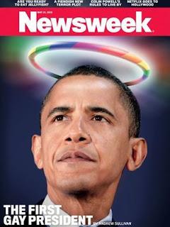 """Revista americana chama Obama de """"O primeiro presidente gay"""""""