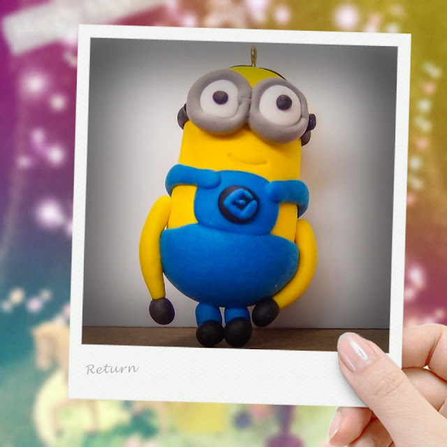 clay despicable me minion
