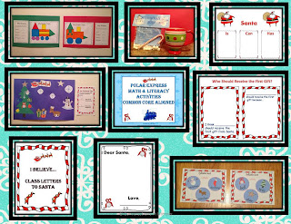 common core activities for The Polar Express