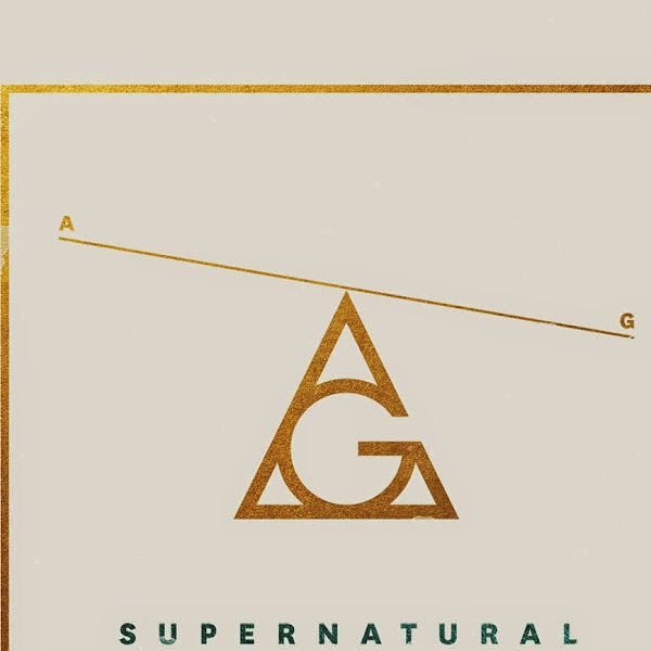 AlunaGeorge - Supernatural - Single Cover