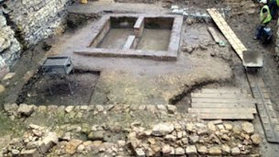 Roman townhouse 'underneath Lincoln Castle'