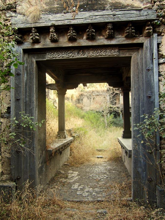 Stock Pictures Inside The Sardar Purandare Wada At Saswad