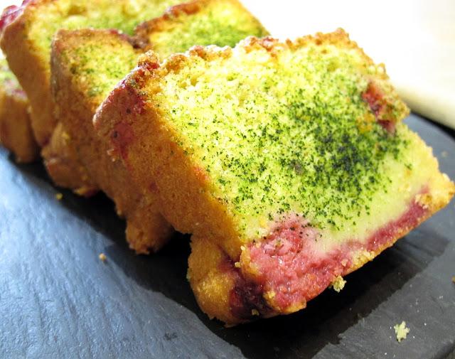 Cake au thé matcha - La Pâtisserie des Rêves - automne japonais