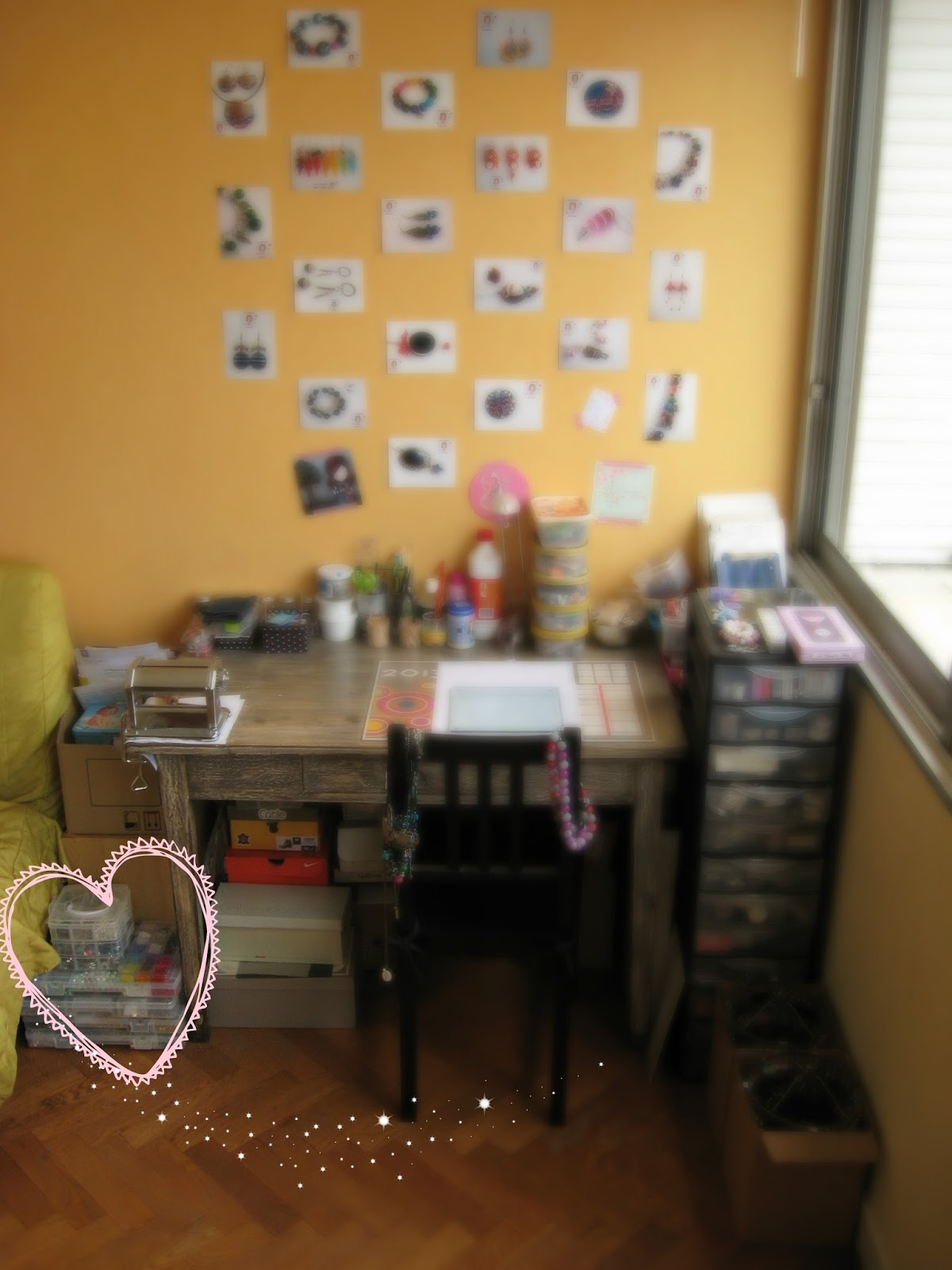 bureau atelier bijoux de lois création fimo